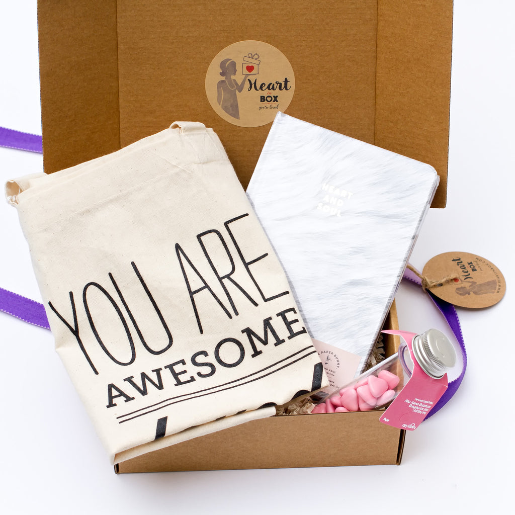 You are awesome Heart Box