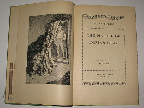 title page of the picture of dorian gray