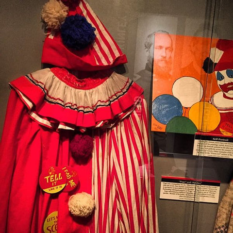 john wayne gacy pogo clown costume