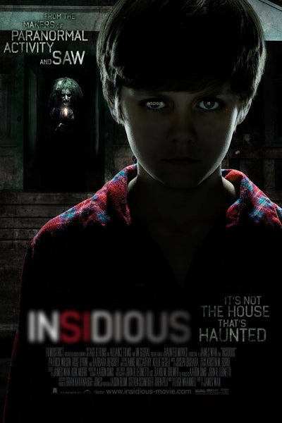 image of movie poster for insidious