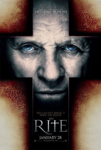 image of movie poster for the rite