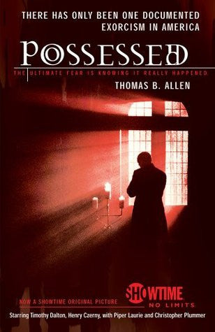 cover of book possessed the true story of an exorcism