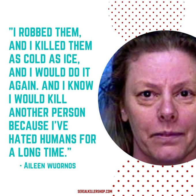 Aileen Wuornos Famous Female Serial Killer