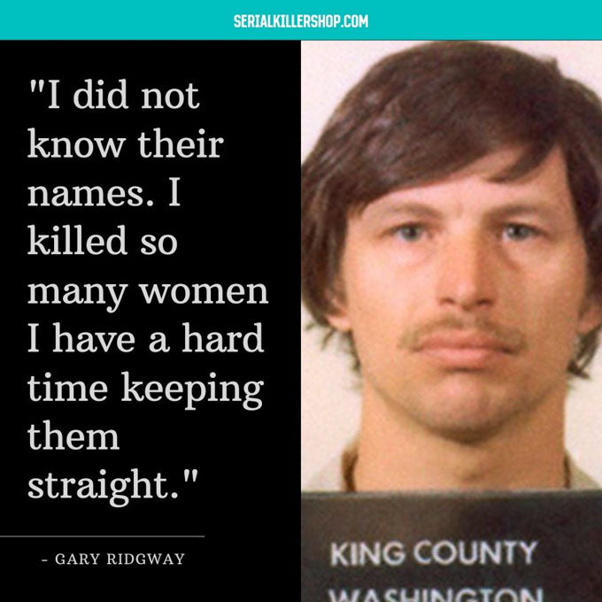 Gary Ridgway Famous Serial Killer From Washington
