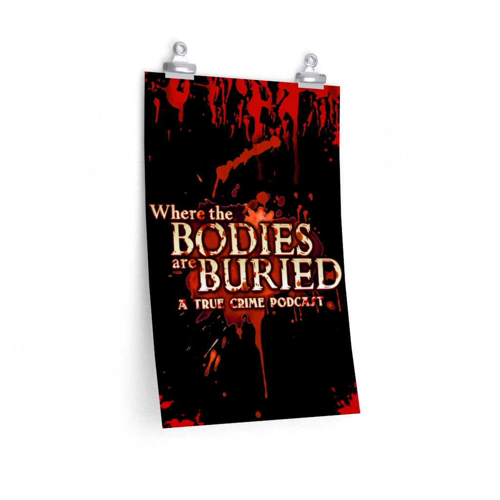 Where the bodies are buried poster