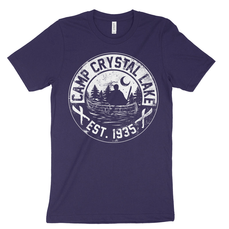 Camp Crystal Lake T-Shirt Jason Horror