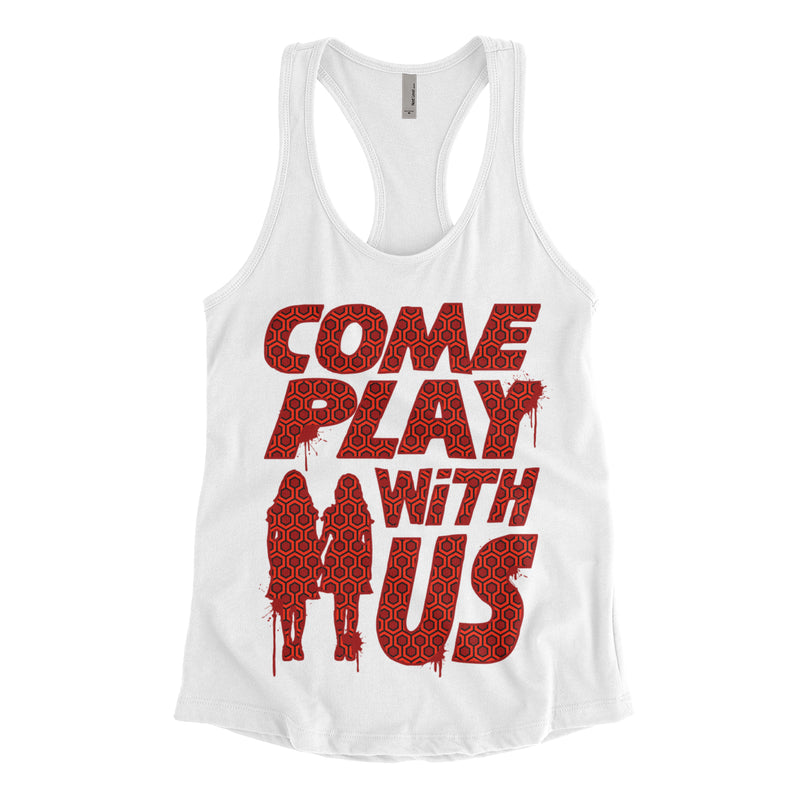 Come Play With Us The Shining Tank Top