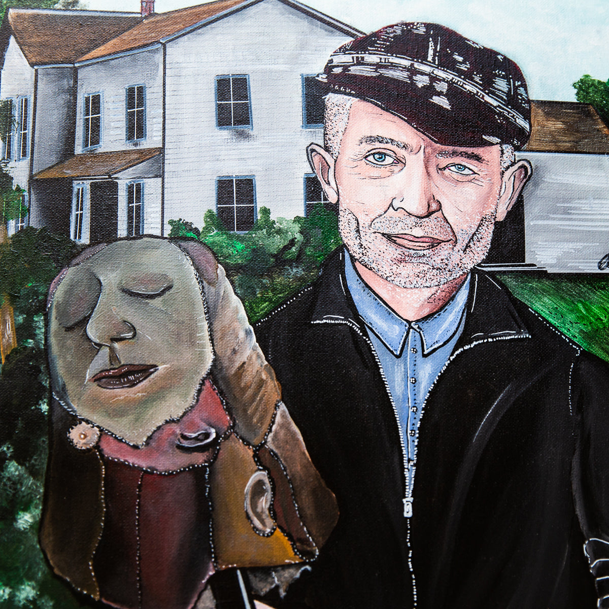 Ed Gein Serial Killer Art