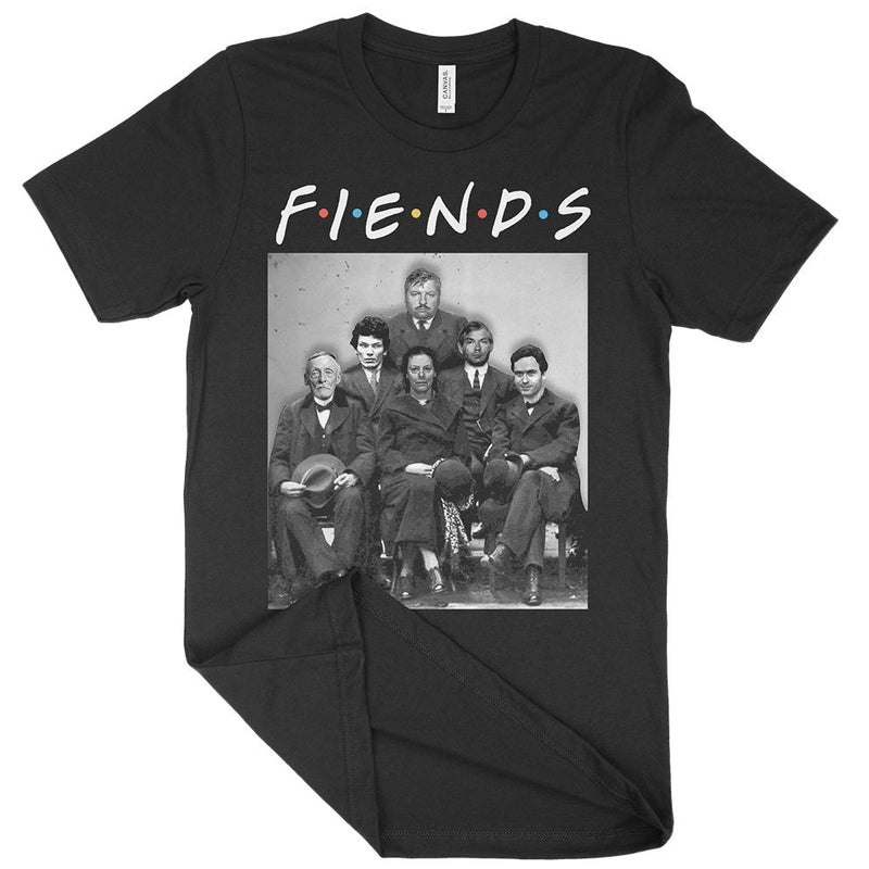 Fiends Friends Parody Serial Killer Shirt