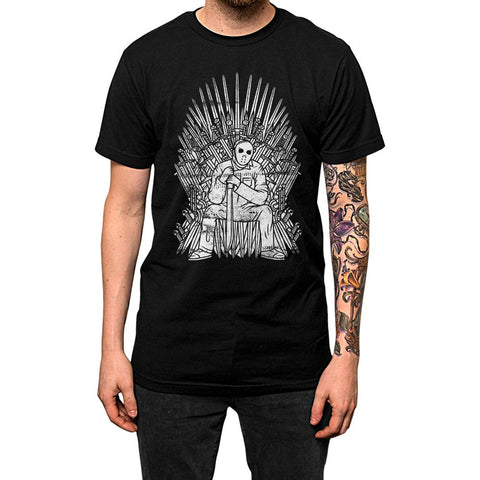 Jason Throne'	Shirt Black Mens
