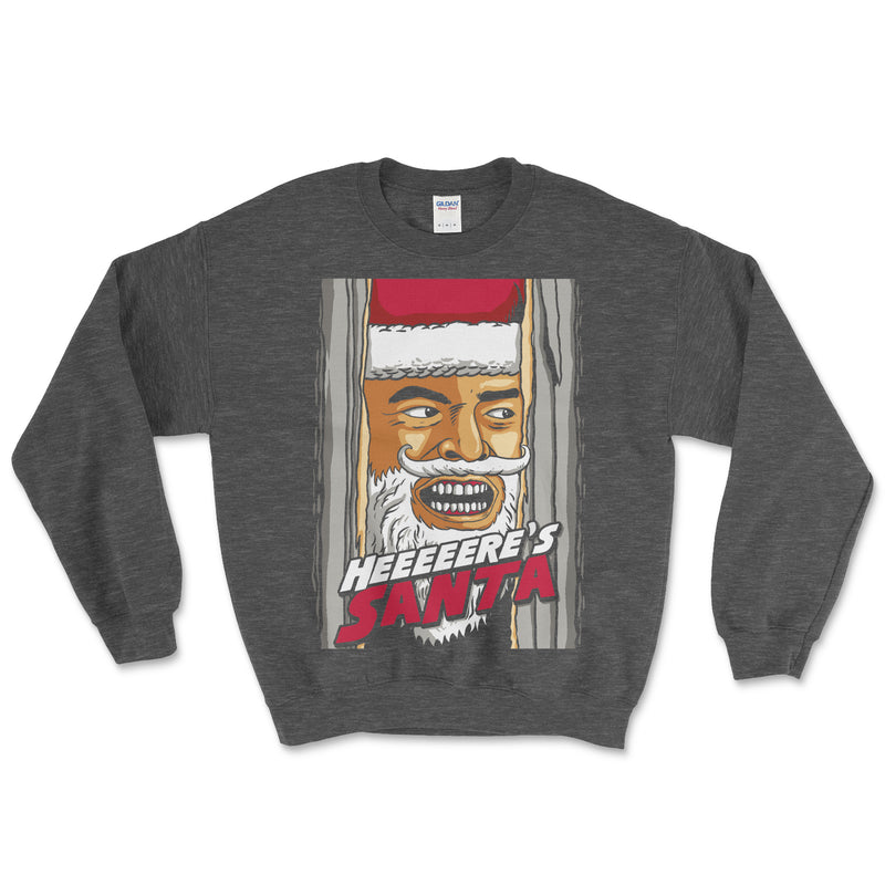 Here's Johnny Christmas Sweatshirt