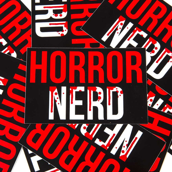 horror bumber sticker