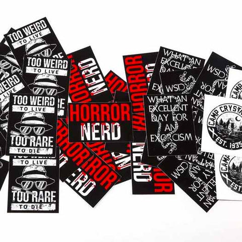 'Horror Stickers'