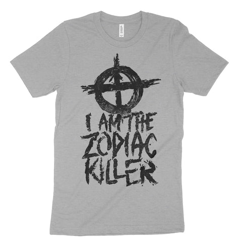 I Am The Zodiac Killer Unisex Tee Black
