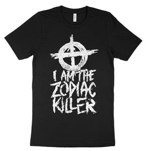 I am the zodiac killer t-shirts serial killer shop