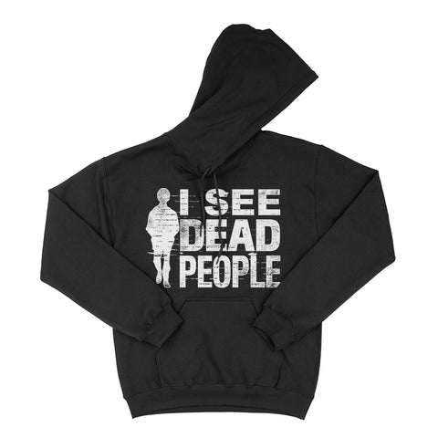 I See Dead People Sixth Sense Hoodie Horror