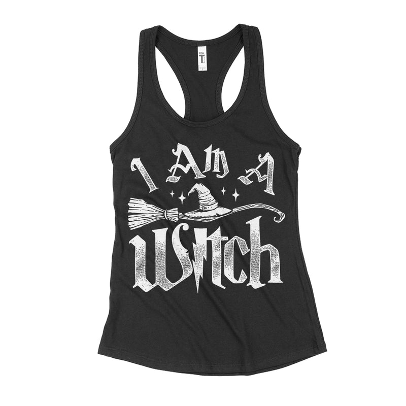 I Am A Witch Women's Racerback Tank Top