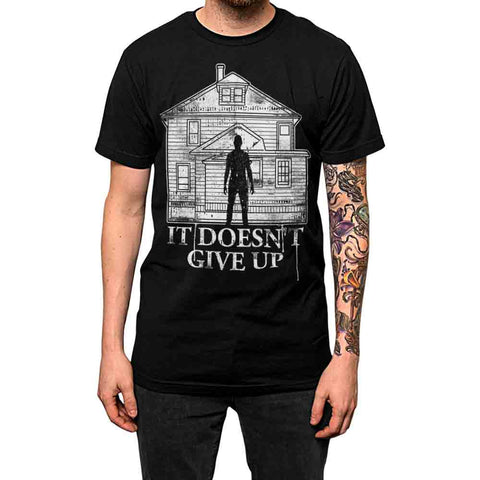 It Doesn't Give Up Unisex Tee Black