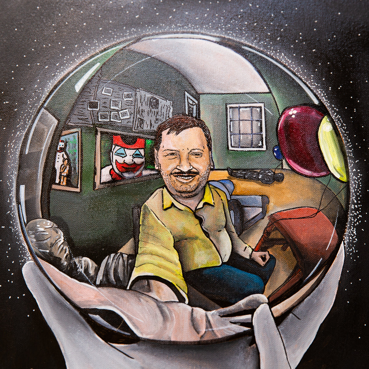 John Wayne Gacy Artwork