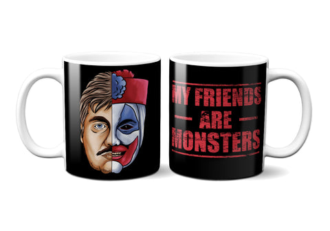 My Friends Are Monsters Coffee Mug