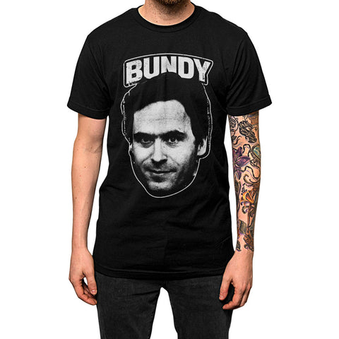 Ted Bundy Unisex Tee Black Model
