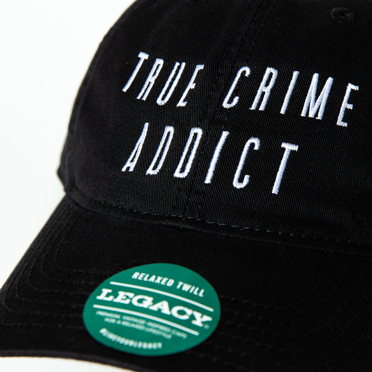 True Crime Addict Baseball Hat