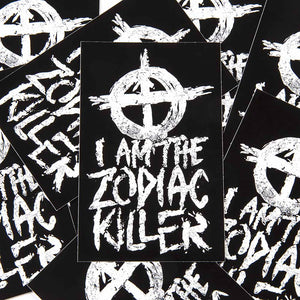 zodiac killer sticker