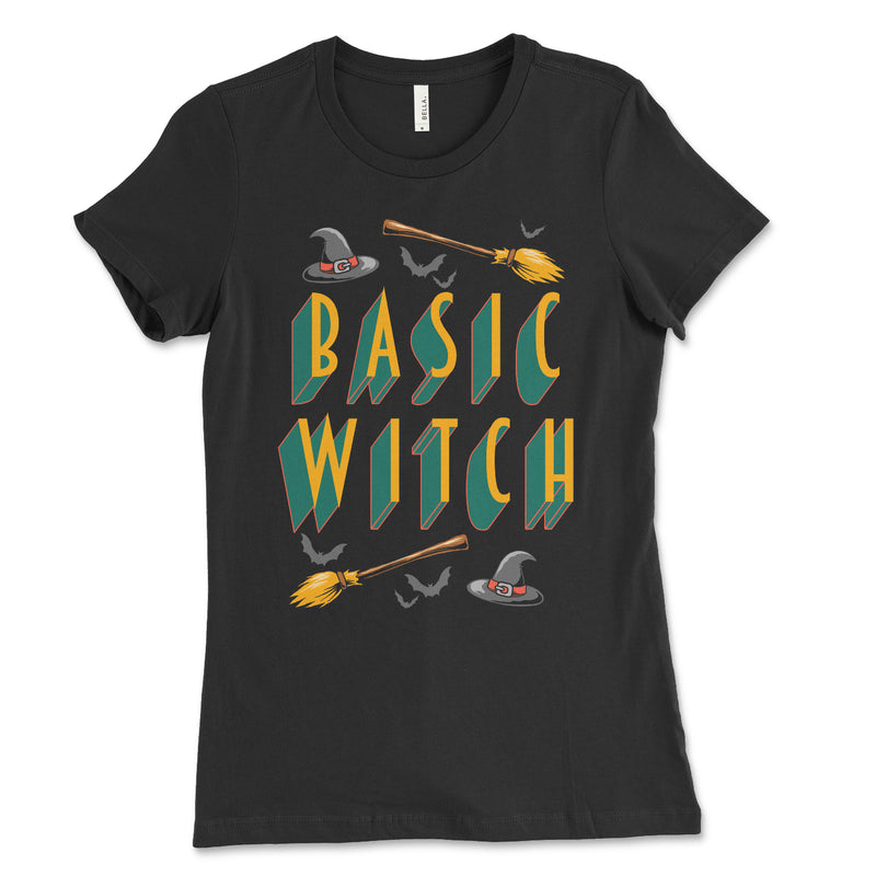 Basic Witch Womens Shirt