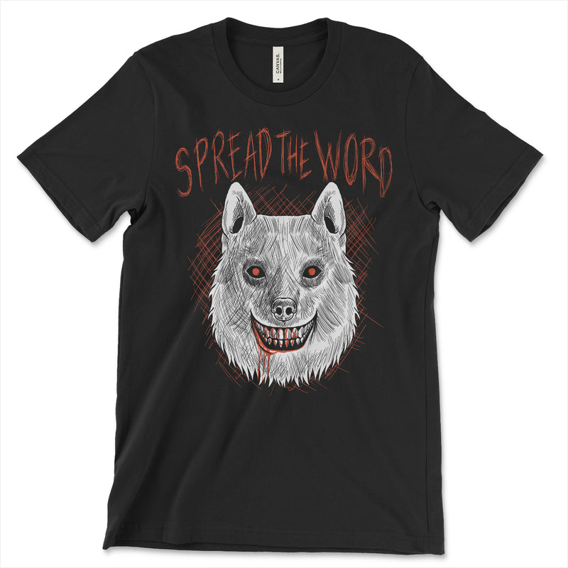Creepypasta Smile Dog Shirt