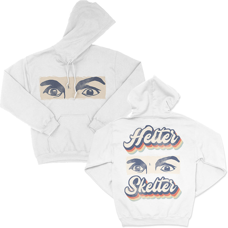Helter Skelter Charles Manson Hoodie White