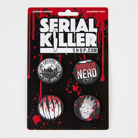 Horror Button Set