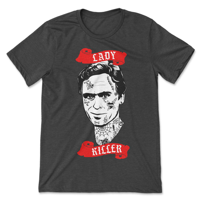 Lady Killer Ted Bundy Tee Shirt