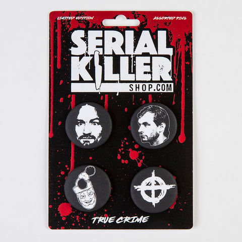 Serial Killer Button Set