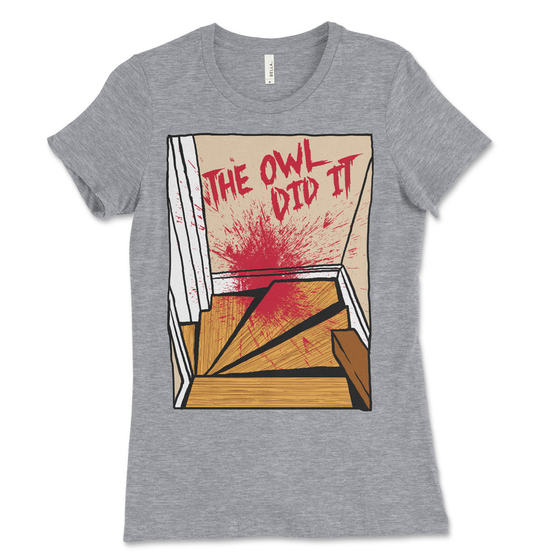 Women's The Owl Did It Staircase Shirt