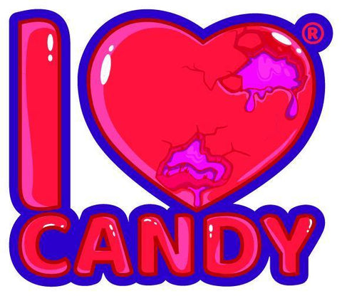 I Love Candy by Mad Hatter