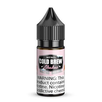 NITRO'S COLD BREW SALTS | Salted Caramel 30ML eLiquid eJuice eJUICE Depo