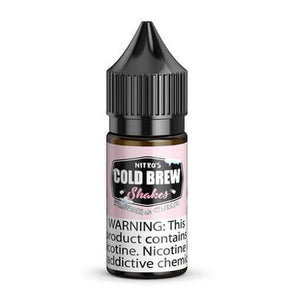 NITRO'S COLD BREW SALTS | Strawberi & Cream 30ML eLiquid eJuice eJUICE Depo
