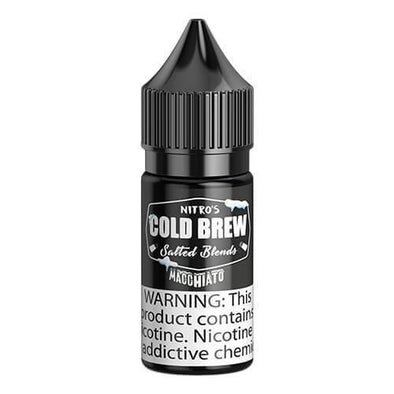 NITRO'S COLD BREW SALTS | Macchiato 30ML eLiquid eJuice eJUICE Depo