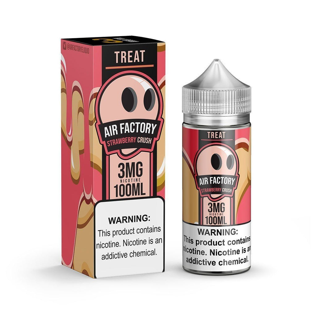 AIR FACTORY TREATS | Strawberry Crush 100ML Eliquid eJuice Air Factory