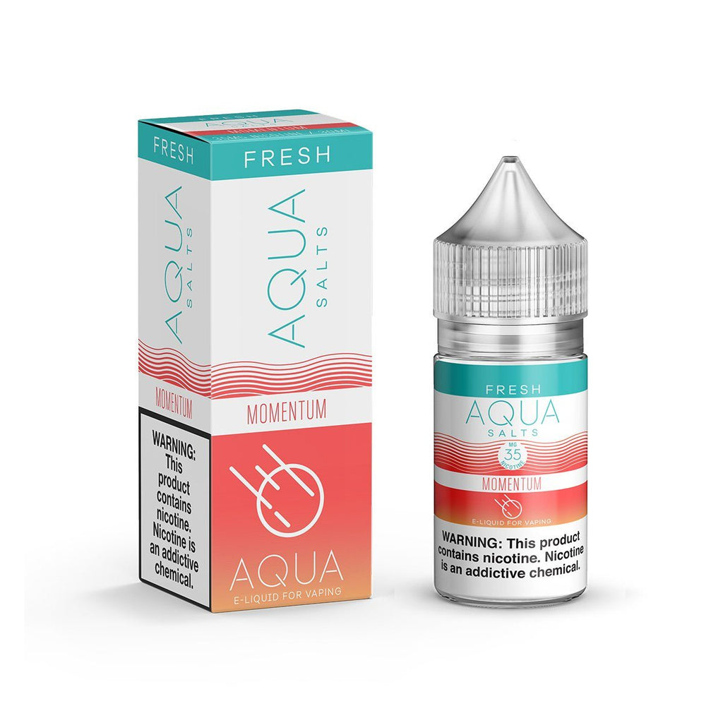 AQUA SALTS | Momentum 30ML eLiquid eJuice AQUA