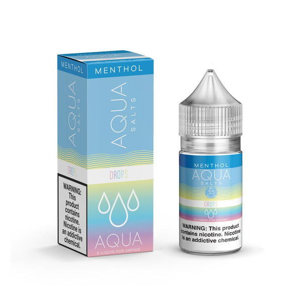 AQUA SALTS MENTHOL | Rainbow Drops Ice 30ML eLiquid eJuice AQUA