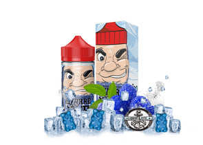 BIZARRE BLUE ICE | Blue Raspberry Gummies 100ML eLiquid eJuice Liquid EFX