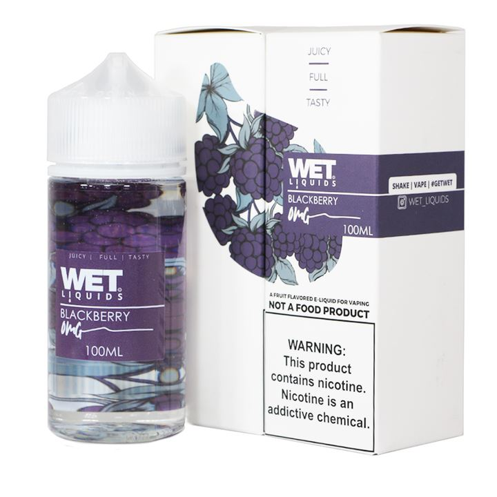 WET LIQUIDS | BLACKBERRY 100ML eLiquid eJuice WET LIQUIDS