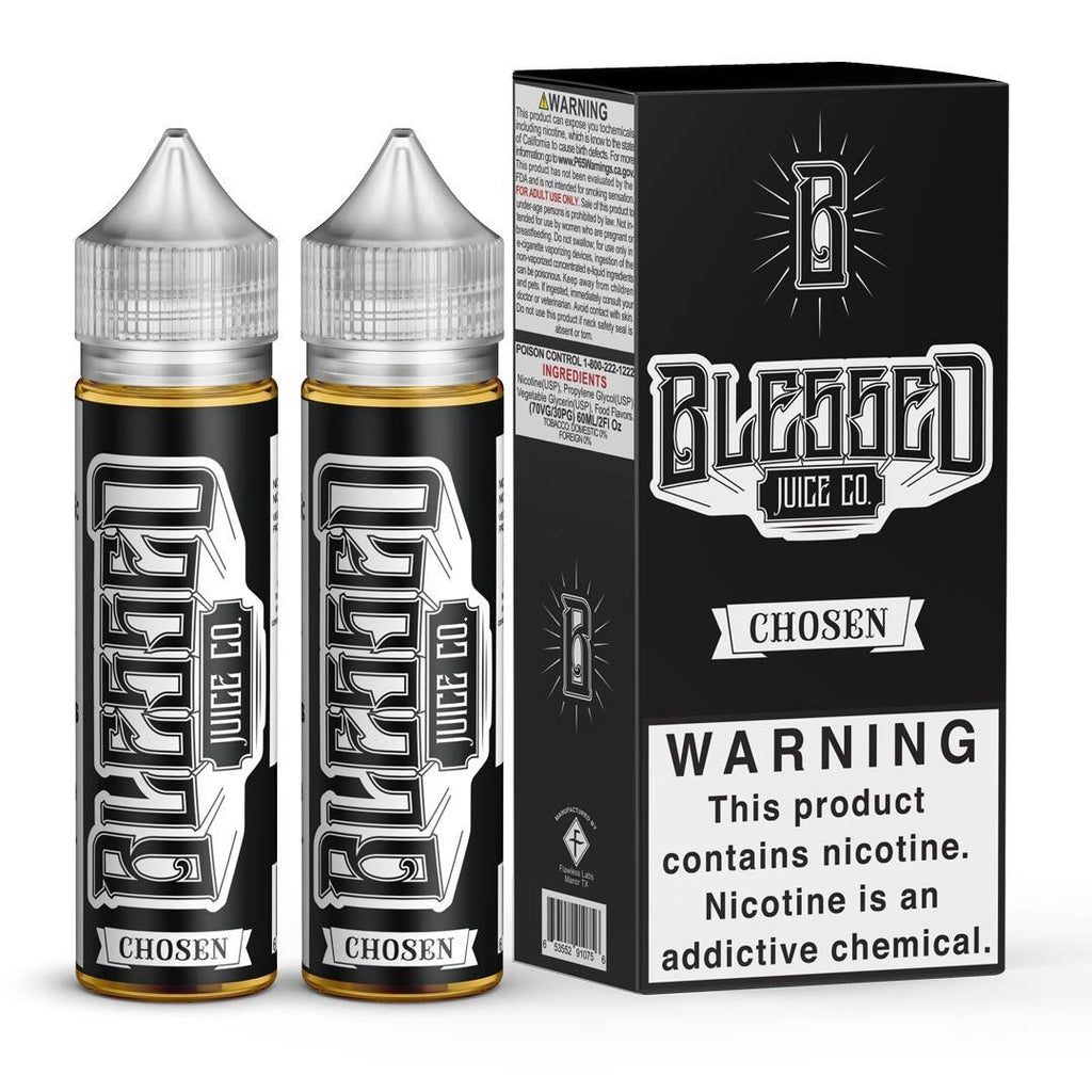 BLESSED | Chosen 120ML eLiquid eJuice BLESSED