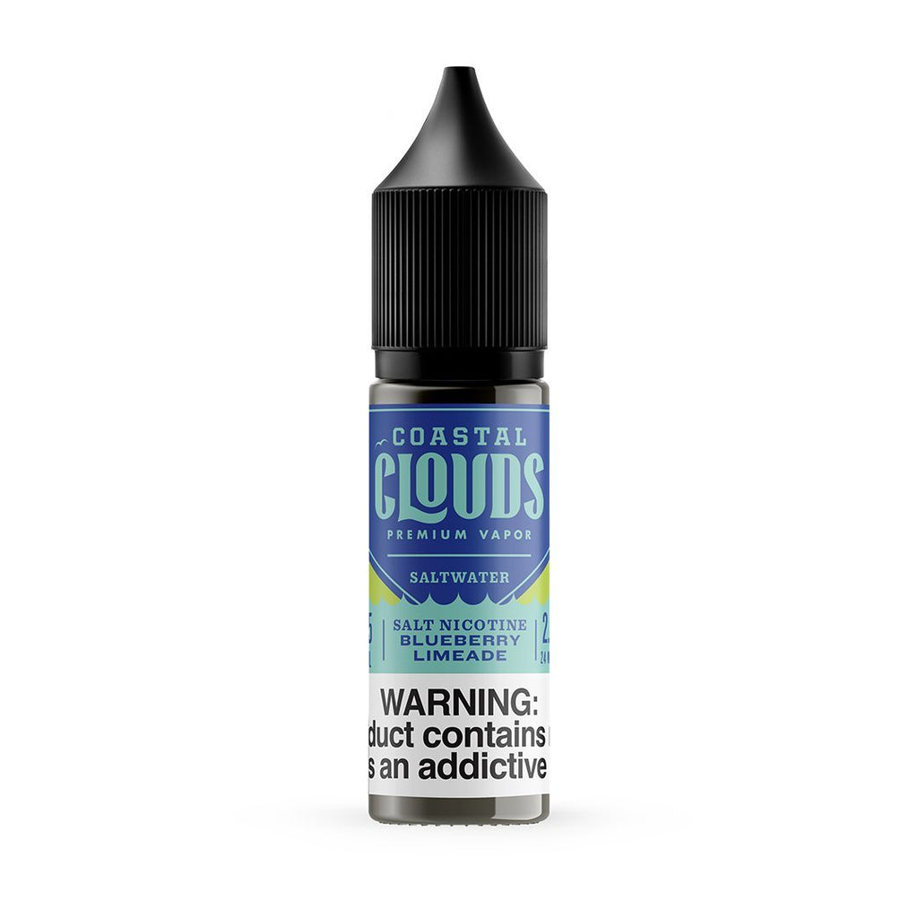 COASTAL CLOUDS | Saltwater Blueberry Limeade 15ML eLiquid eJuice Coastal Clouds
