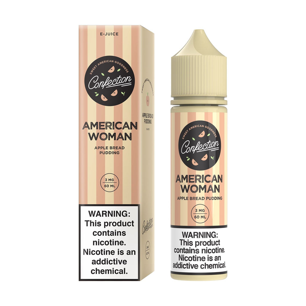 CONFECTION VAPE | American Woman 60ML eLiquid eJuice Axiocore