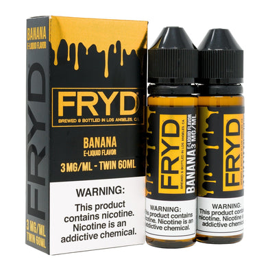 FRYD | Banana 120ML eLiquid eJuice Fryd
