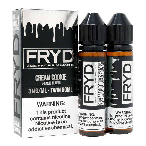 FRYD | Cream Cookie 120ML eLiquid eJuice Fryd