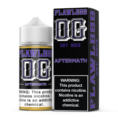 FLAWLESS OG | Aftermath 100ML eLiquid eJuice Flawless