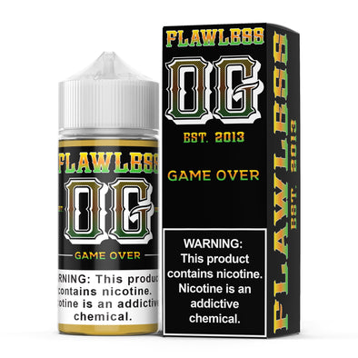 FLAWLESS OG | Game Over 100ML eLiquid eJuice Flawless